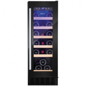 AMICA AWC300BL Freestanding/ under counter slimline wine cooler