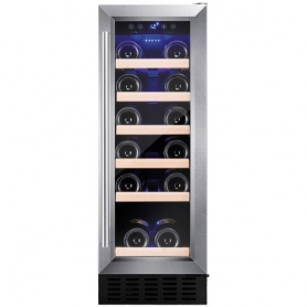 AMICA AWC300SS Freestanding/ under counter slimline wine cooler