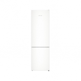Liebherr CN4813 201x60cm 338L NoFrost Freestanding Fridge Freezer - White - 1