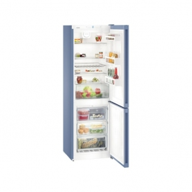 Liebherr CNFB4313 NoFrost Freestanding Fridge Freezer - Frozen Blue  - 1