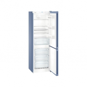 Liebherr CNFB4313 NoFrost Freestanding Fridge Freezer - Frozen Blue  - 2
