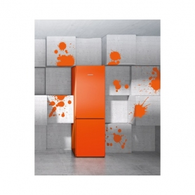 Liebherr CNNO4313 NoFrost Fridge Freezer - Neon Orange  - 5