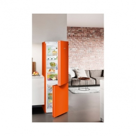 Liebherr CNNO4313 NoFrost Fridge Freezer - Neon Orange