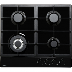 AMICA PGZ6412B Four burner gas hob